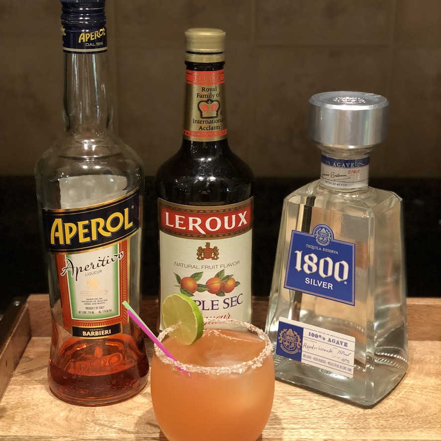 Grapefruit Aperol Cocktail